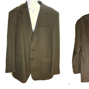 BIANCHI Made in Italy Sport Coat Wool  46R